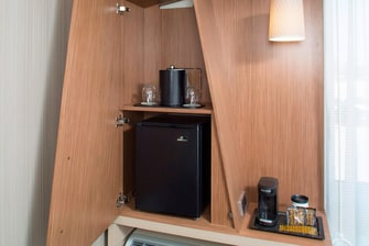 Midlothian Guest Room Amenity Cabinet