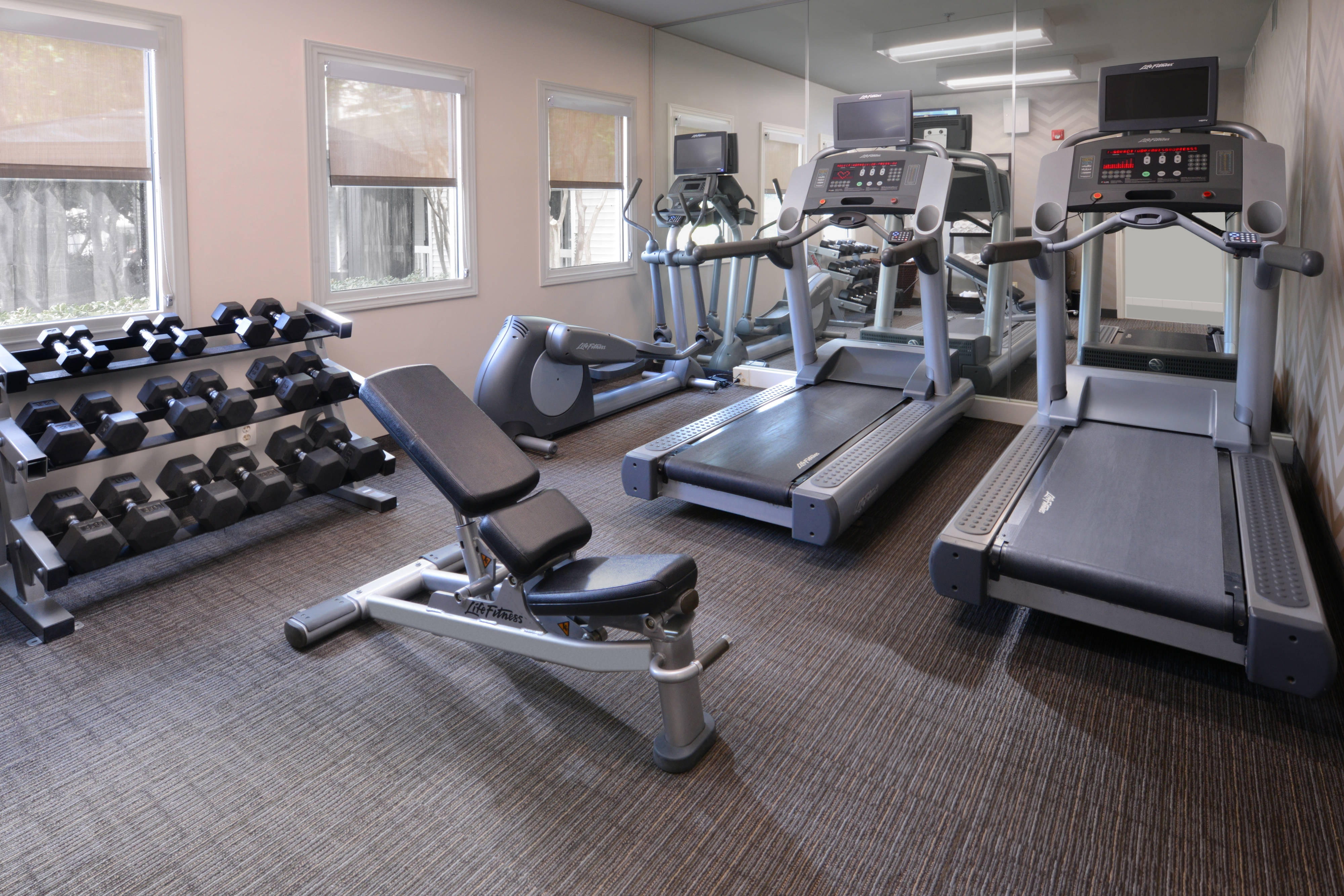 Fitness Center at Residence Inn Dallas Central Expressway