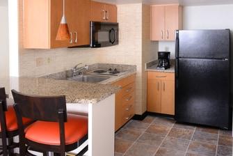 Suite con cocina del Residence Inn en Dallas