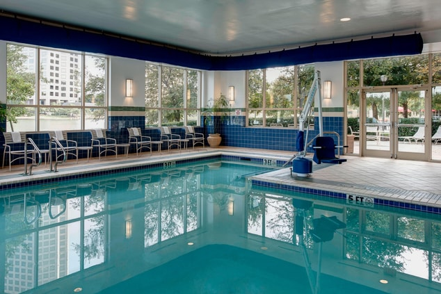 Las Colinas hotel indoor pool