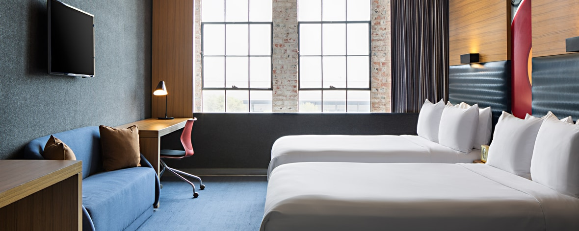 Downtown Dallas Hotels in TX | Aloft Dallas Downtown