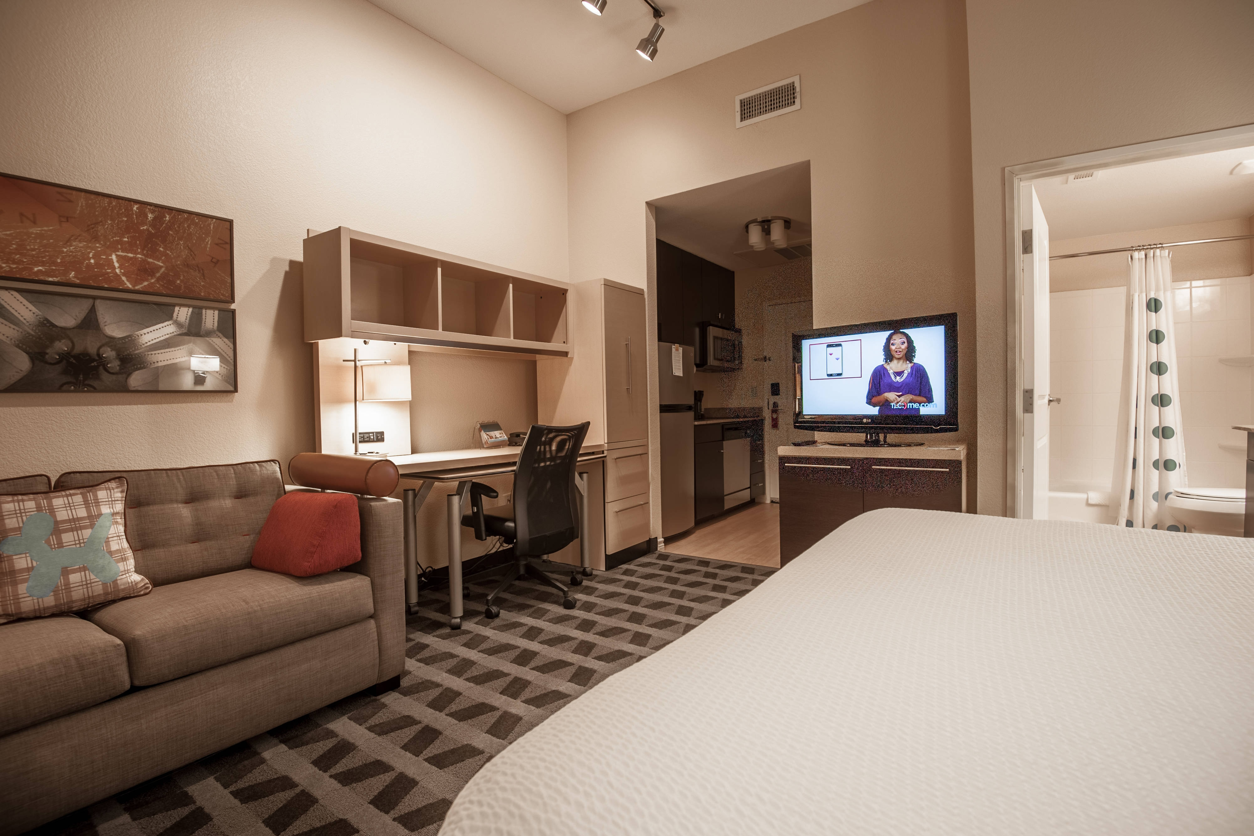 1 And 2 Bedroom Hotel Suites In Dallas Tx Towneplace