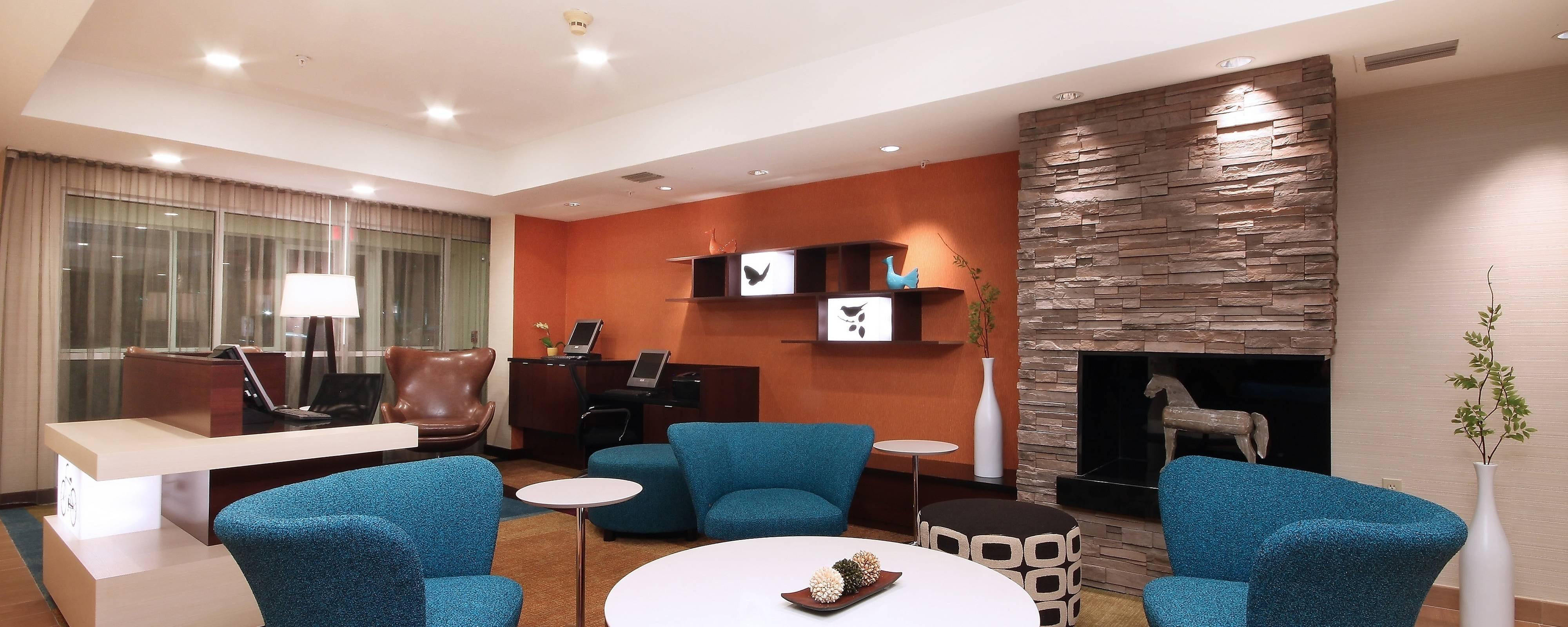Lobby del hotel en Las Colinas