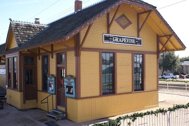 Grapevine Train Station