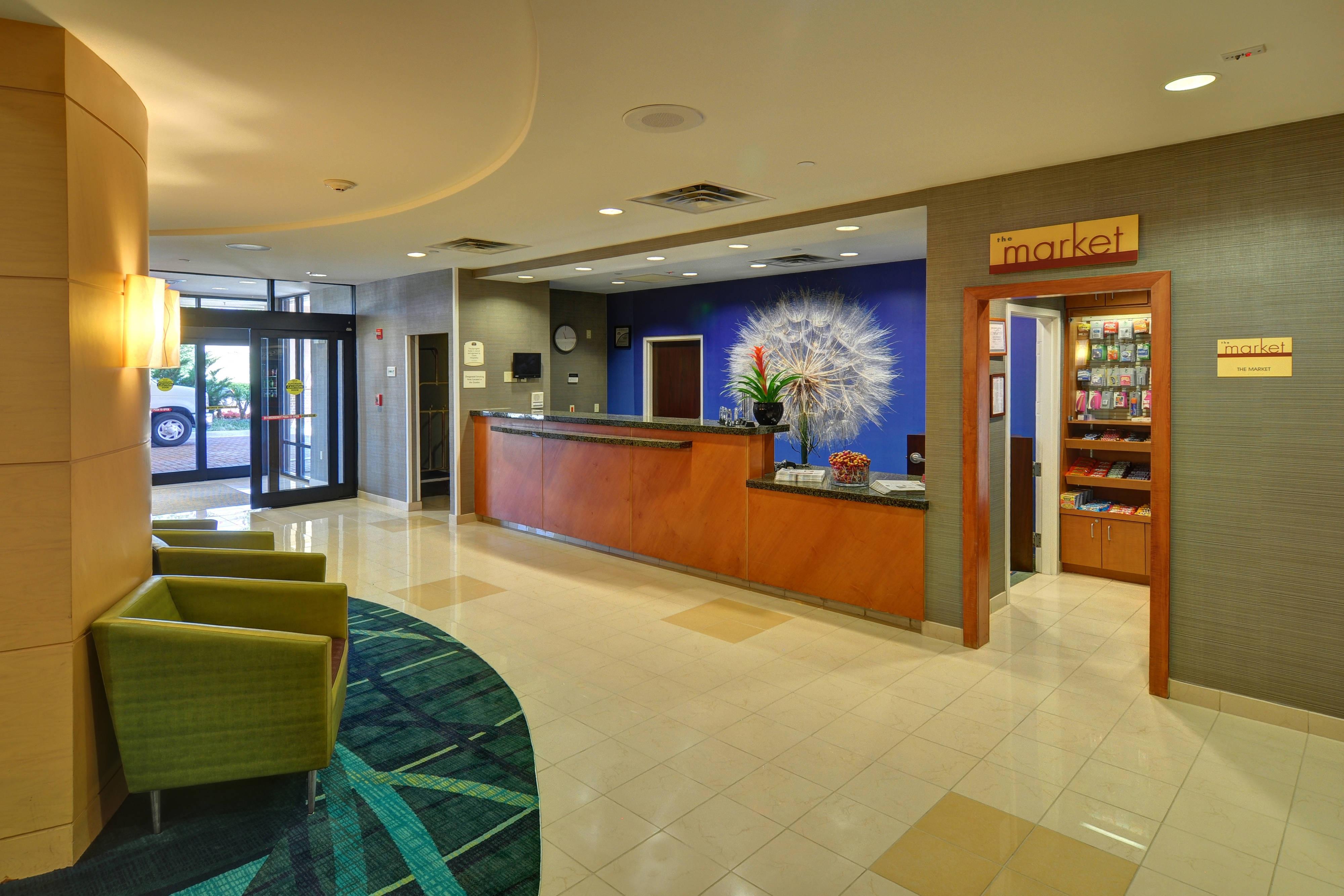 Irving hotel front desk
