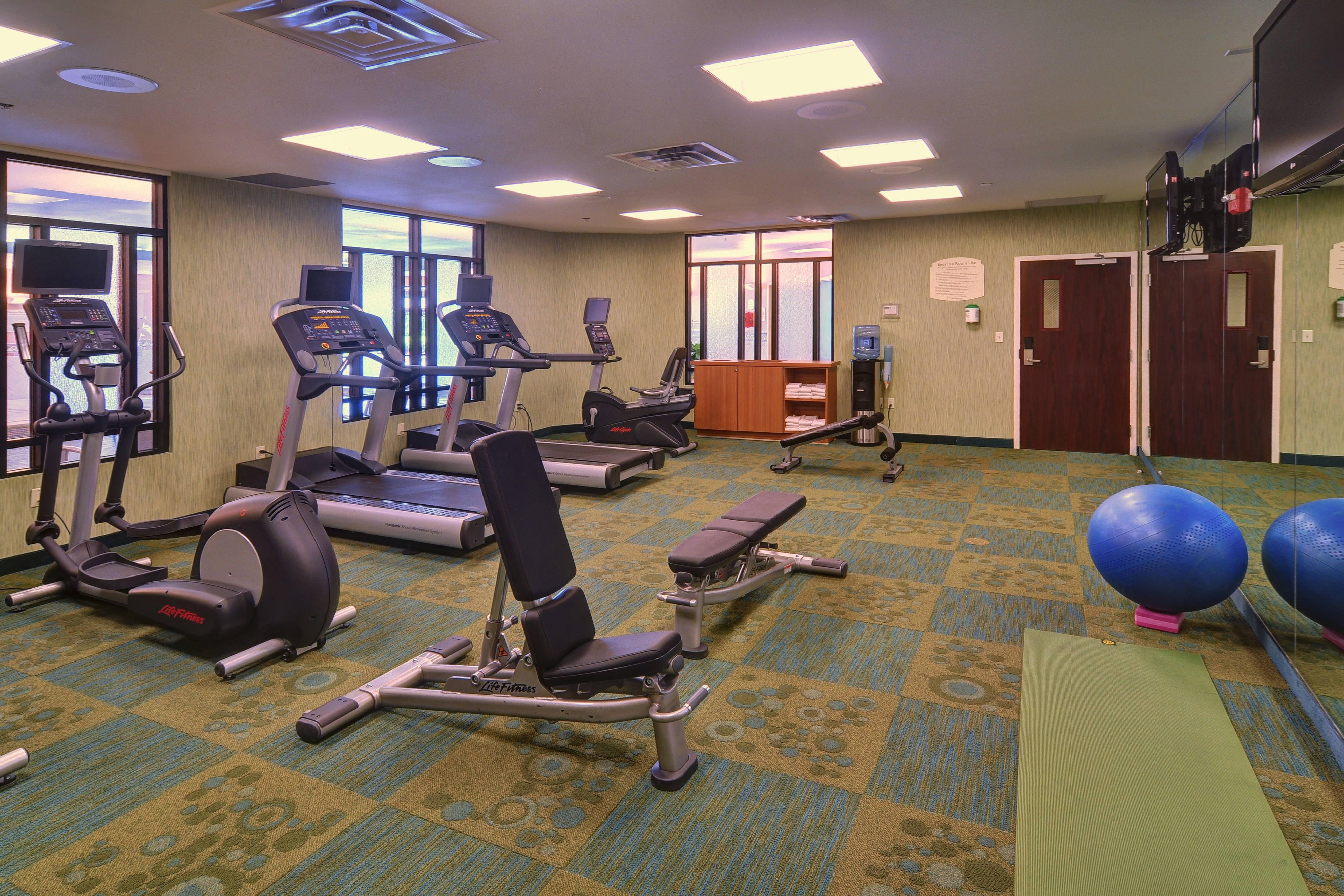 DFW hotel fitness center