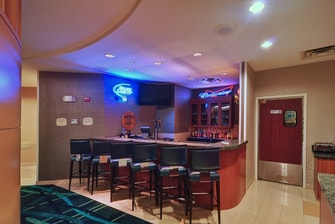 Irving Texas hotel lobby bar
