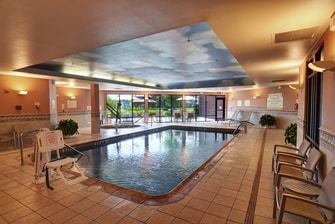 Irving hotel indoor pool