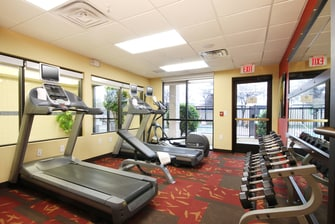 Lewisville TX hotel fitness center
