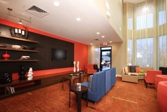 Lewisville DFW hotel lobby