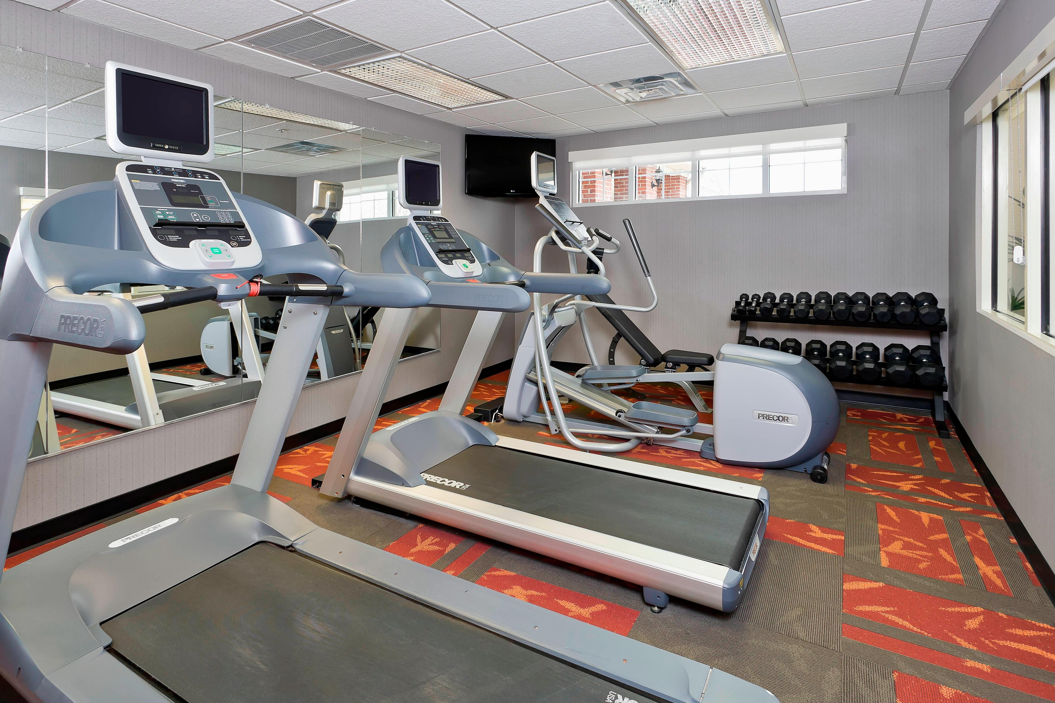 Lewisville Hotel with Fitness Center