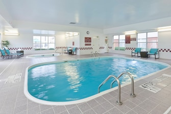 Lewisville Hotel with Outdoor Pool
