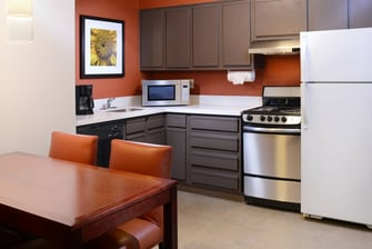 Residence Inn Dallas Plano Suite Kitchen