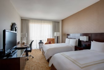 Plano Hotel Double Guest Room