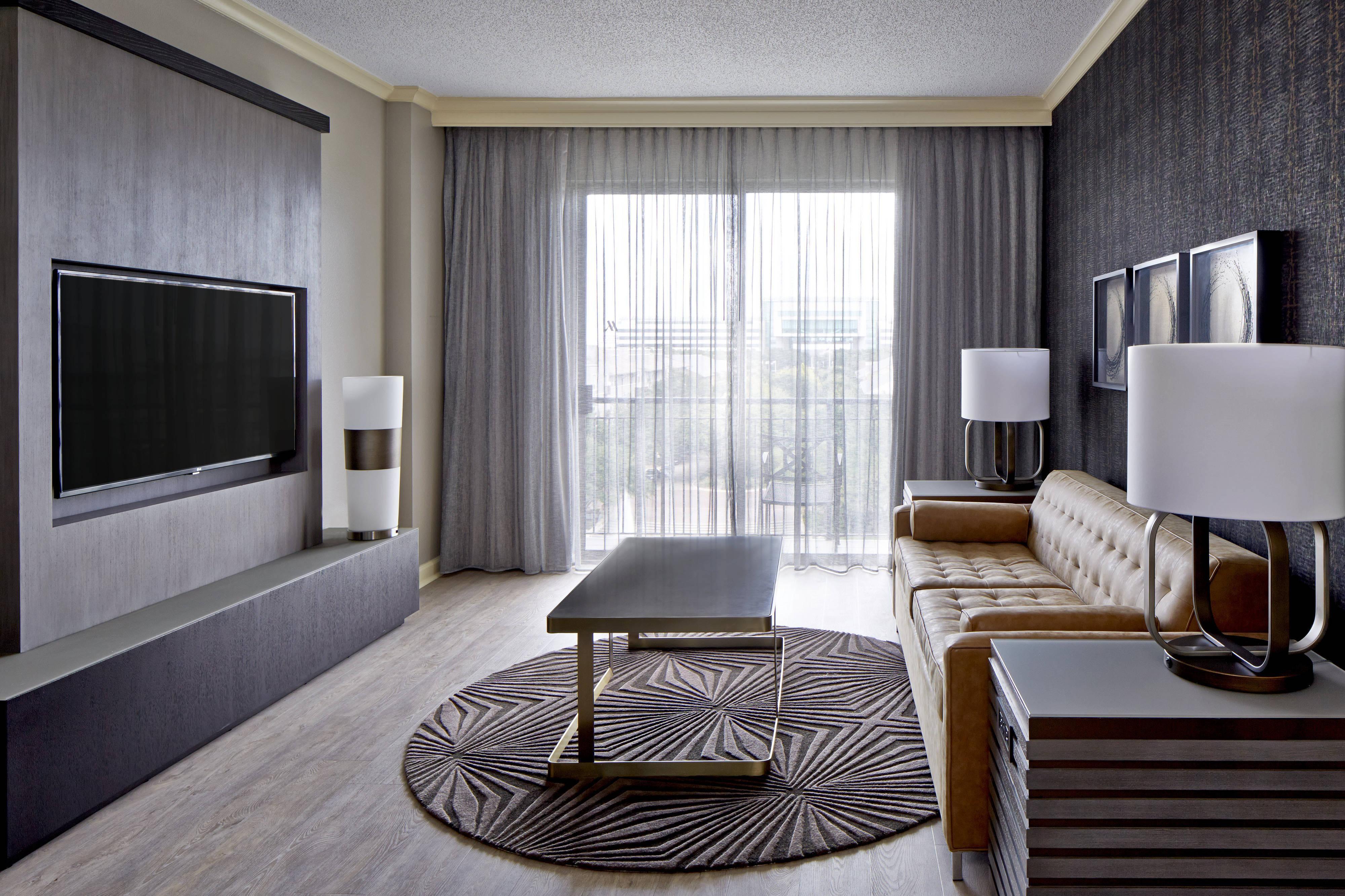 Deluxe Double Suite - Wohnbereich