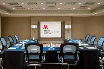 Espacio para reuniones del hotel de Addison, Dallas