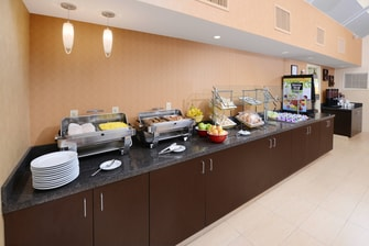 Residence Inn Richardson Breakfast Buffet