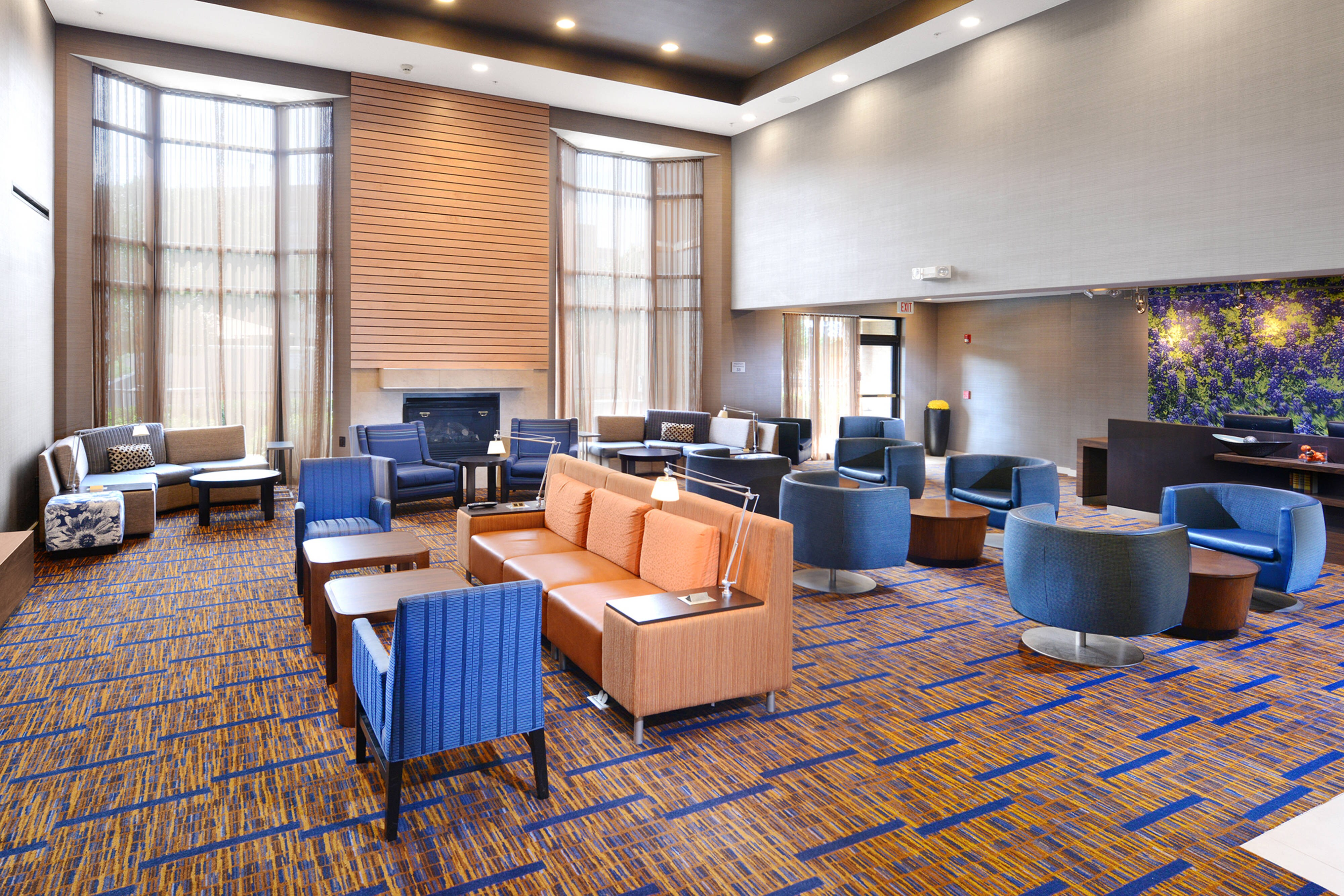 Richardson TX Hotel Lobby
