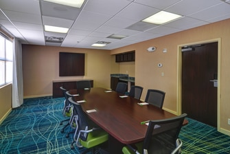 North Dallas hotel boardroom