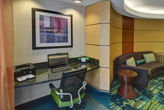 DFW airport hotel business center