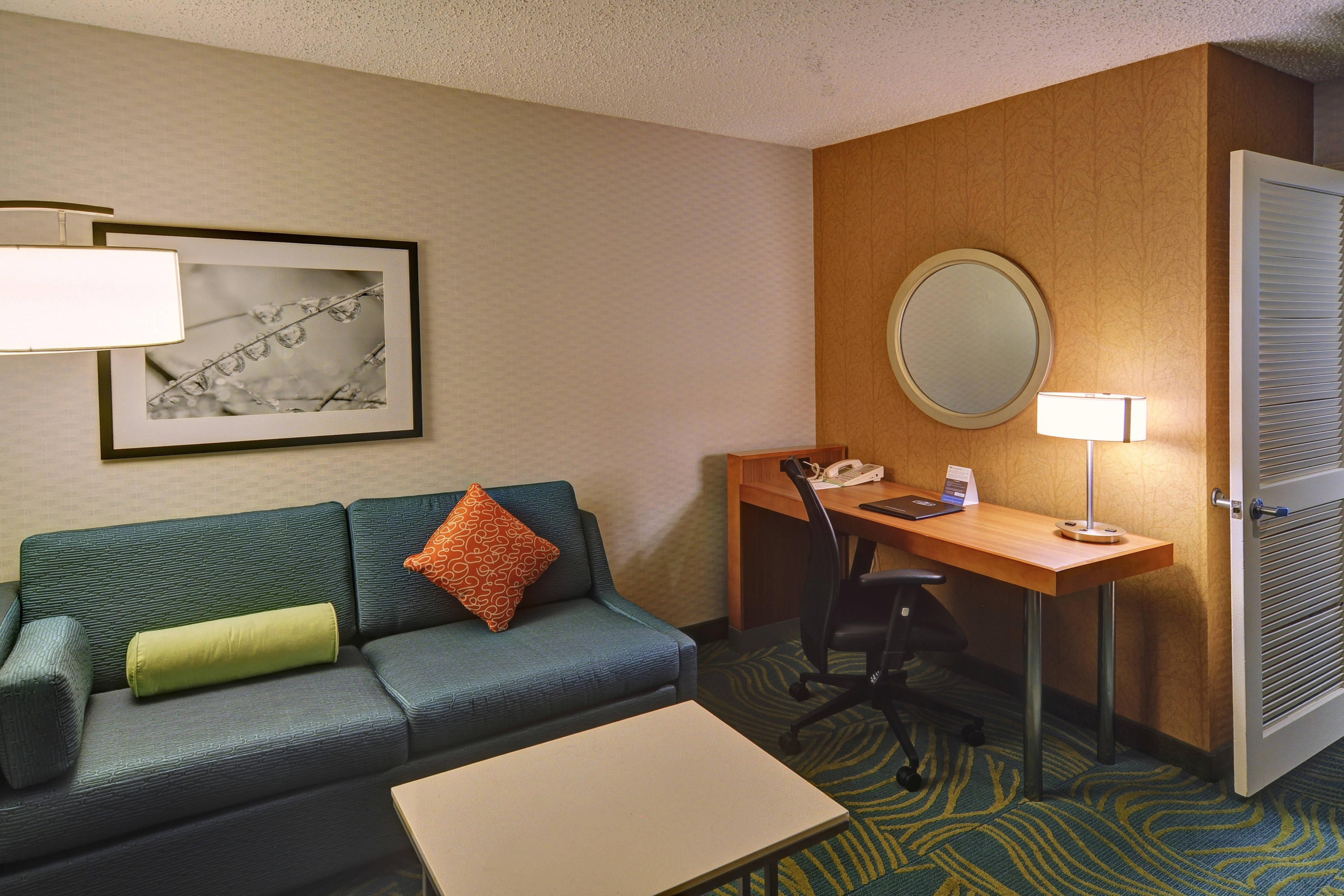 Wohnbereich der Suite