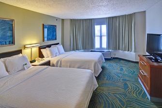 Dallas double suite sleeping area