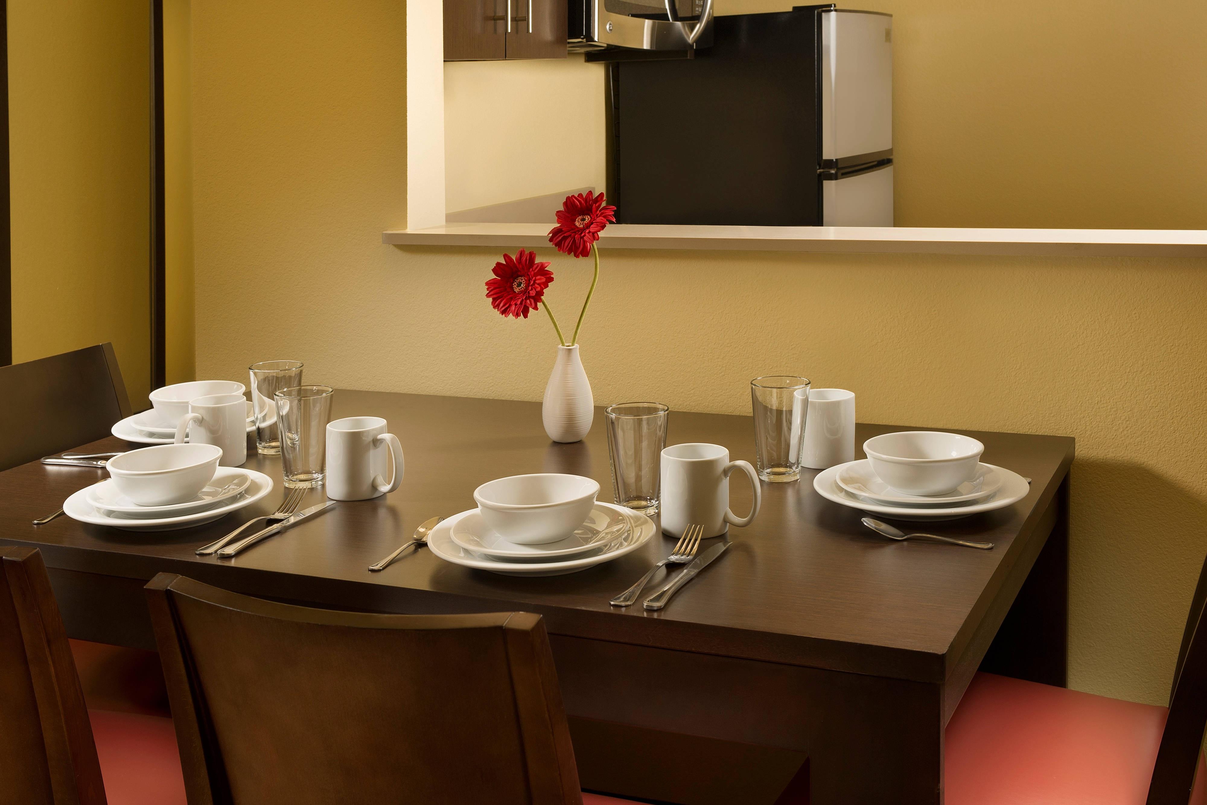 Essbereich der Suite