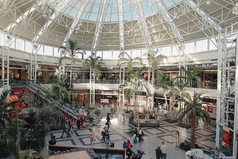 Lewisville TX shopping mall