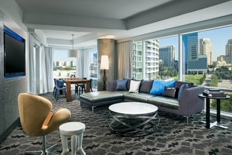 Wow Terrace Suite - Living Room