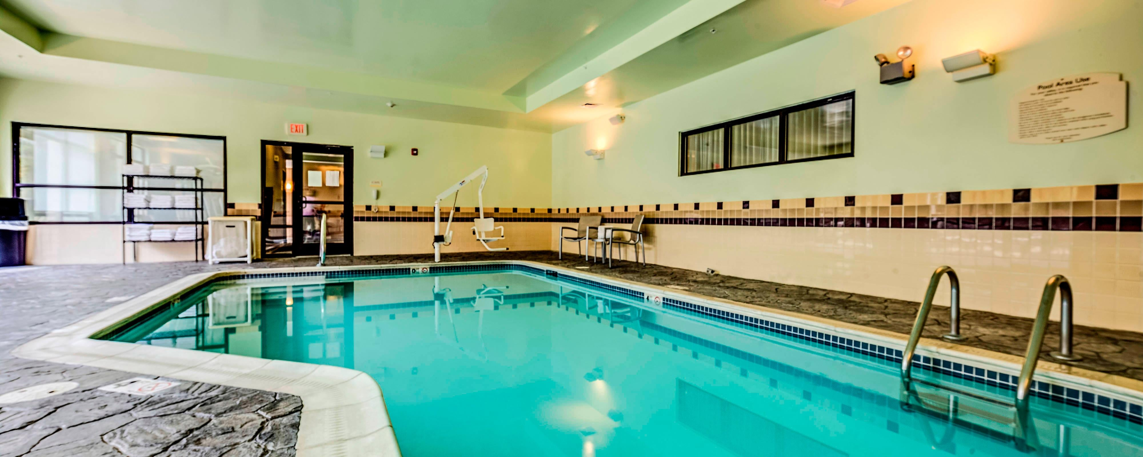 Dayton Ohio Hotel Indoor Pool