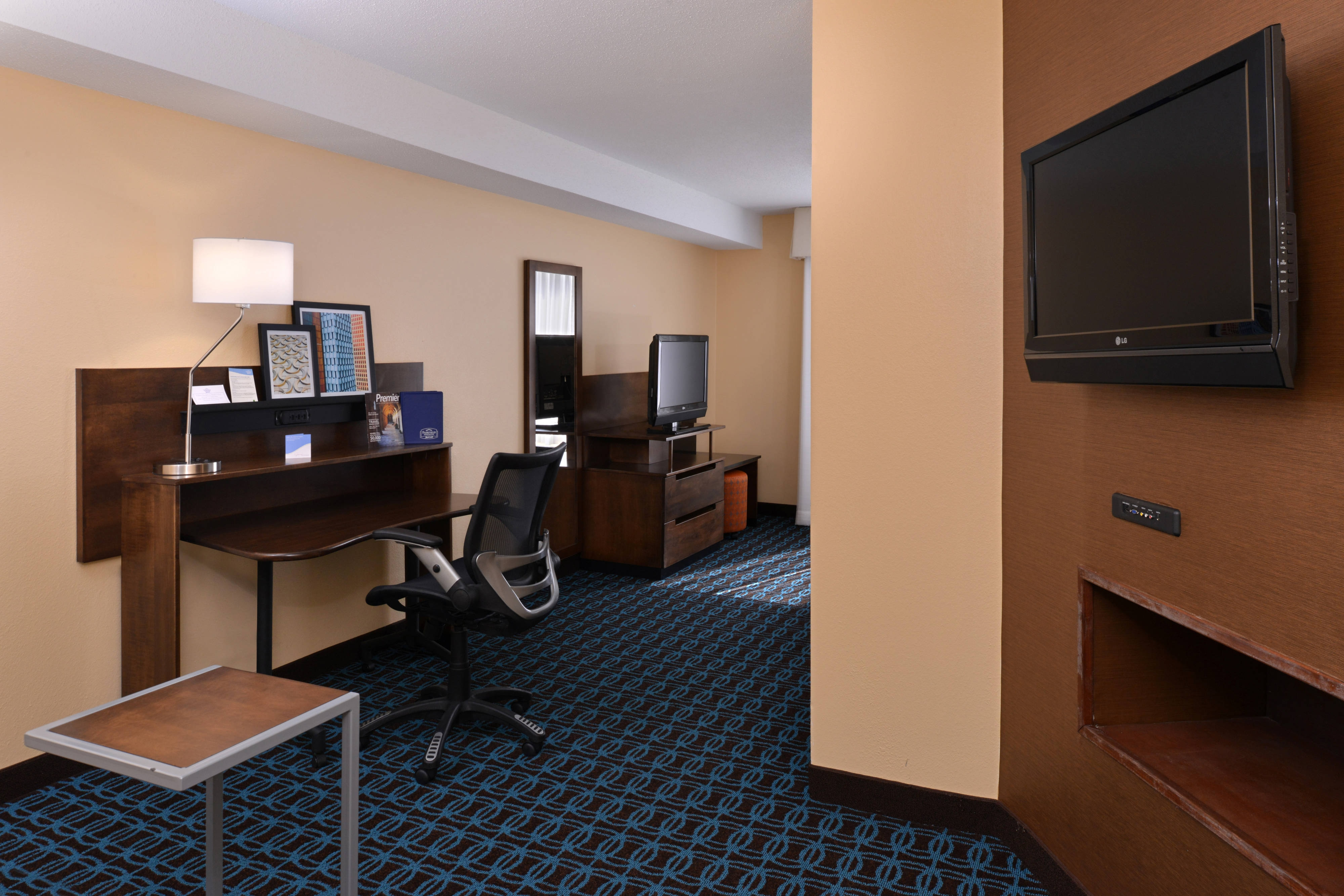 Amenities of Executive King Suite