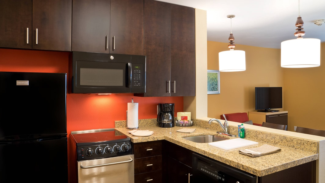 One- & Two-Bedroom Suite – Kitchen Area