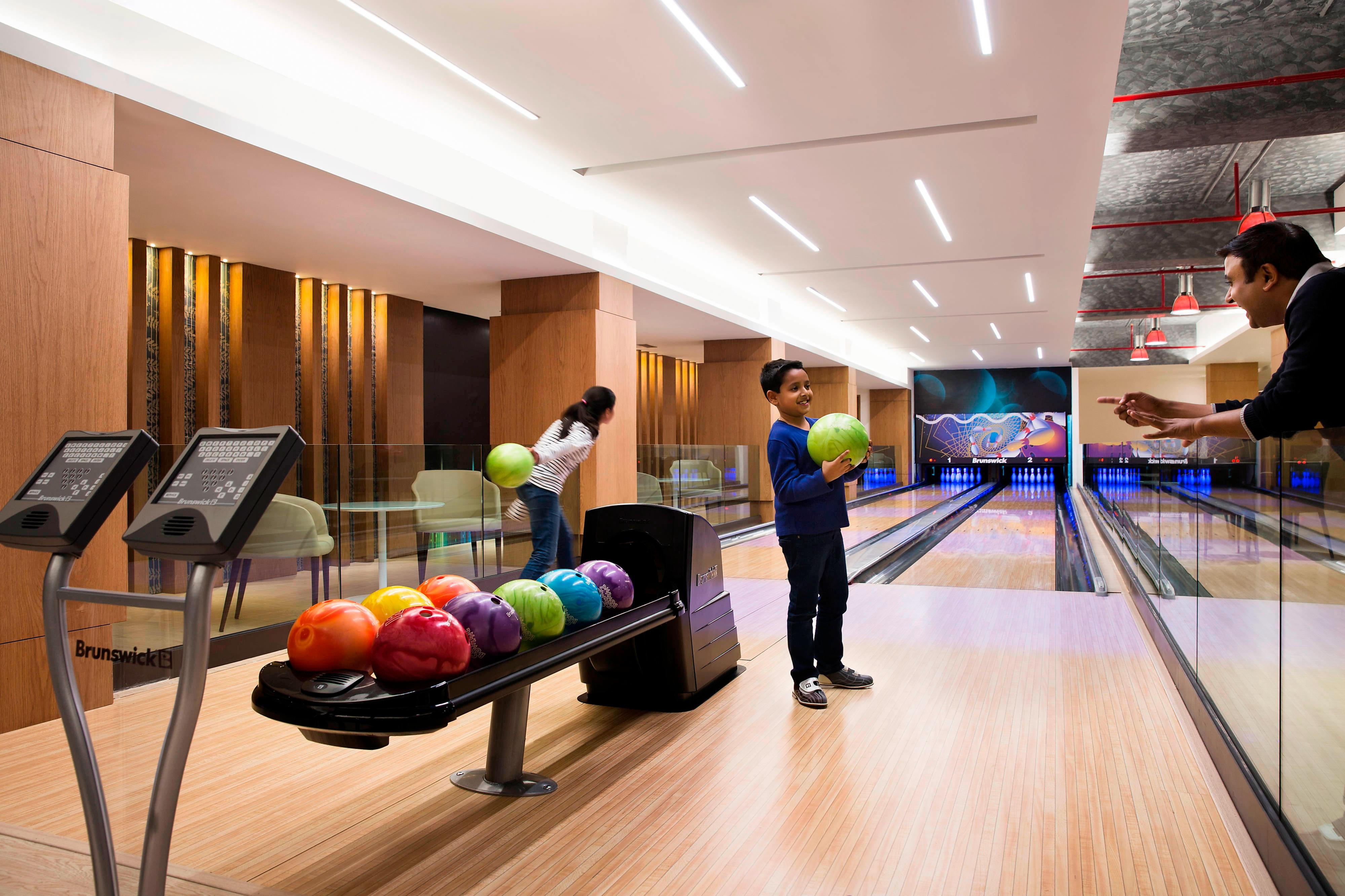 The Den – Bowling Area