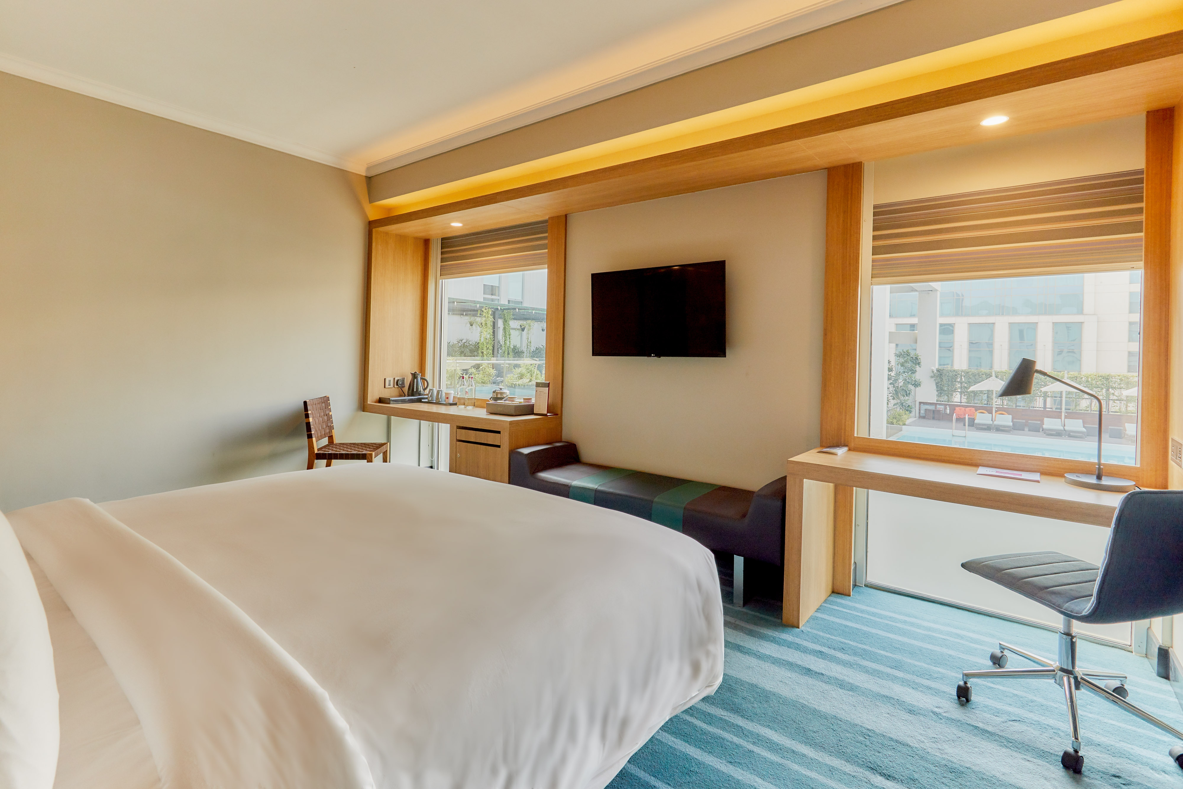 Habitación Premier con cama tamaño King