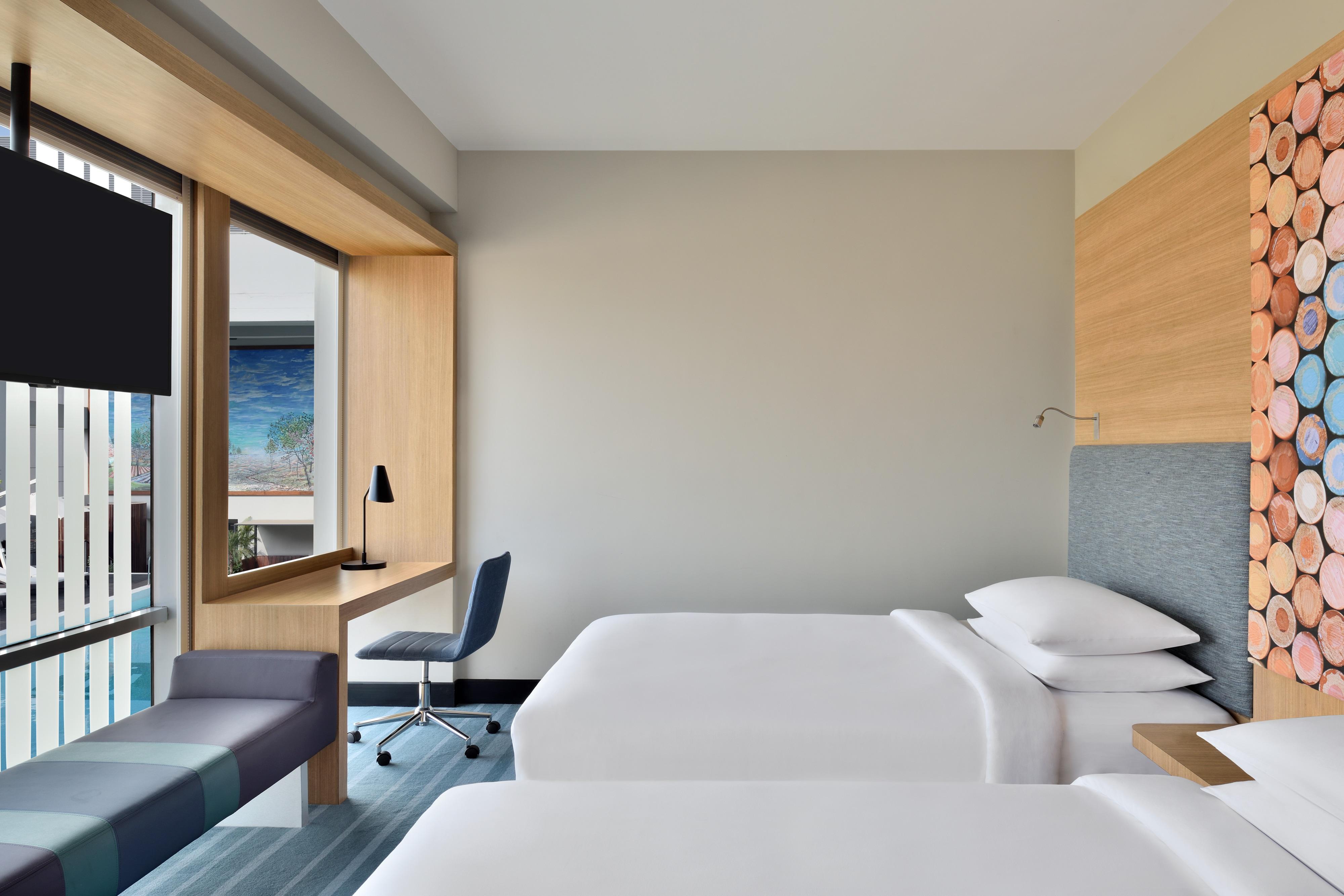 Habitación Premier con dos camas individuales