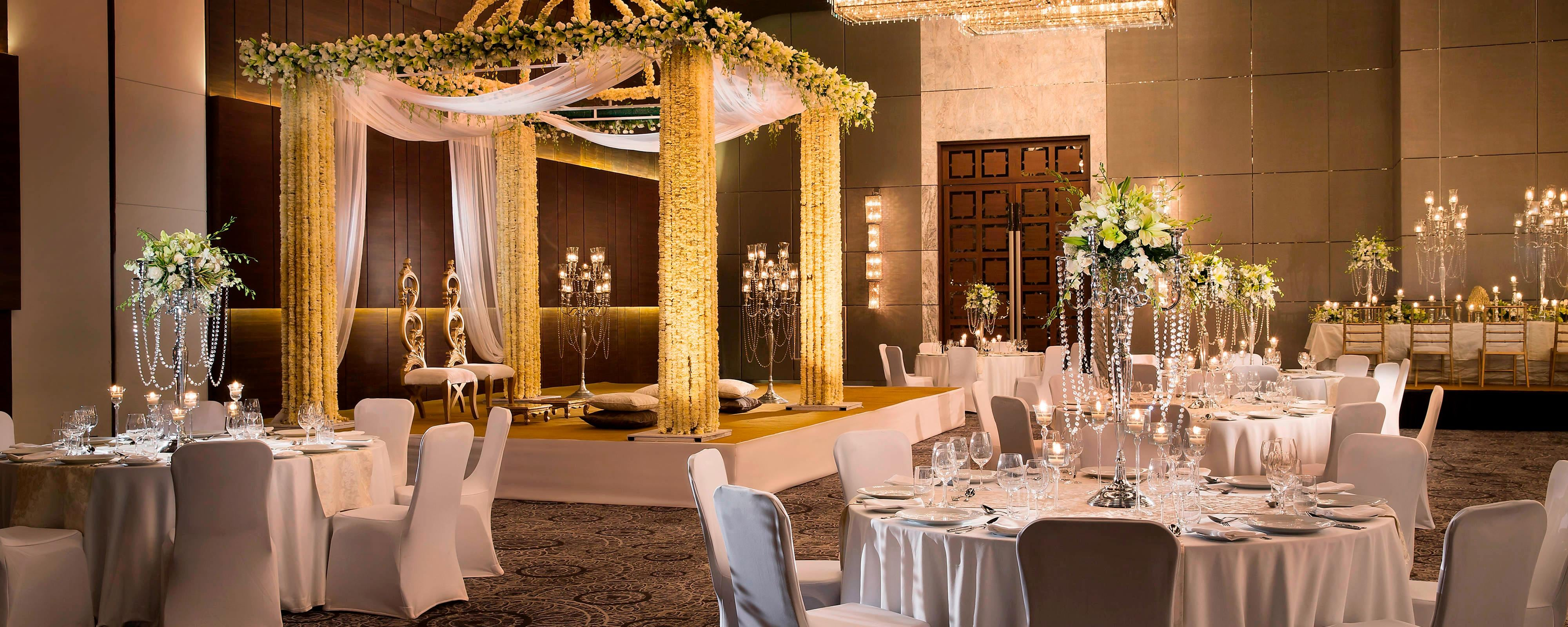 Wedding Halls In New Delhi India Jw Marriott Hotel New
