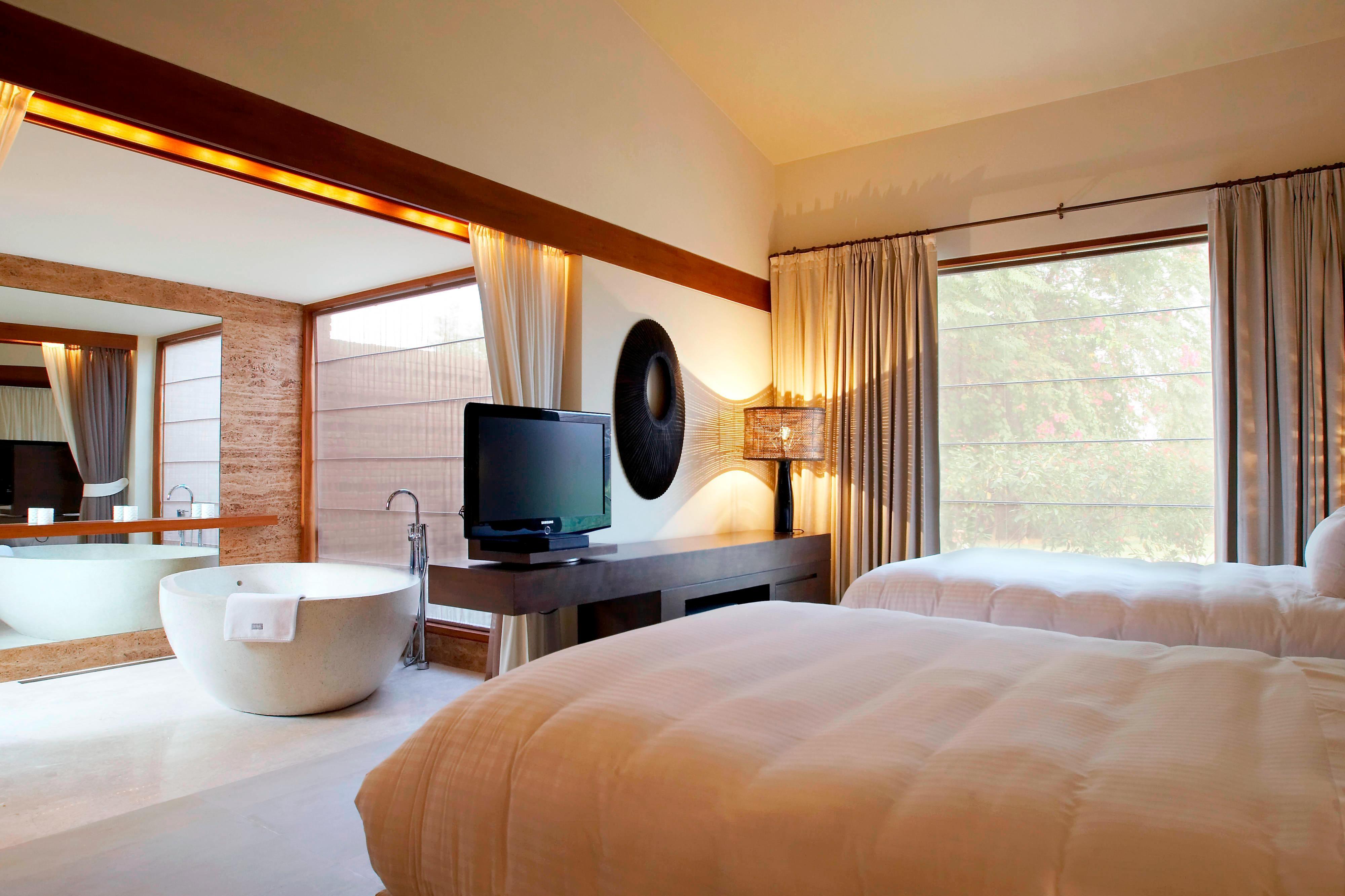 Luxus-Villa mit zwei Einzelbetten