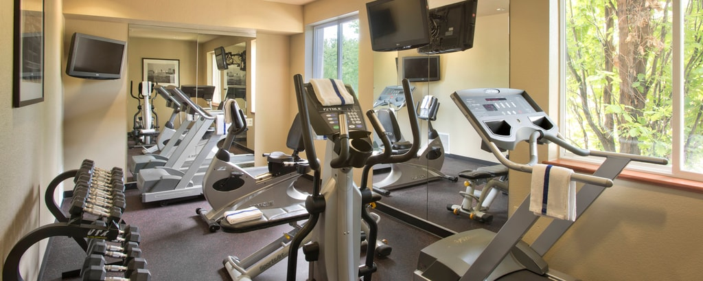 Gimnasio del TownePlace Suites Denver Downtown