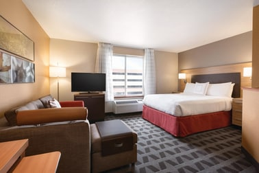 Come and stay at our TownePlace Suites Denver Downtown hotel