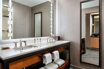 Vanity of Gaylord Rockies Guest Room Bathroom