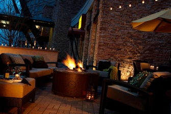Patio Fire Pit Seating