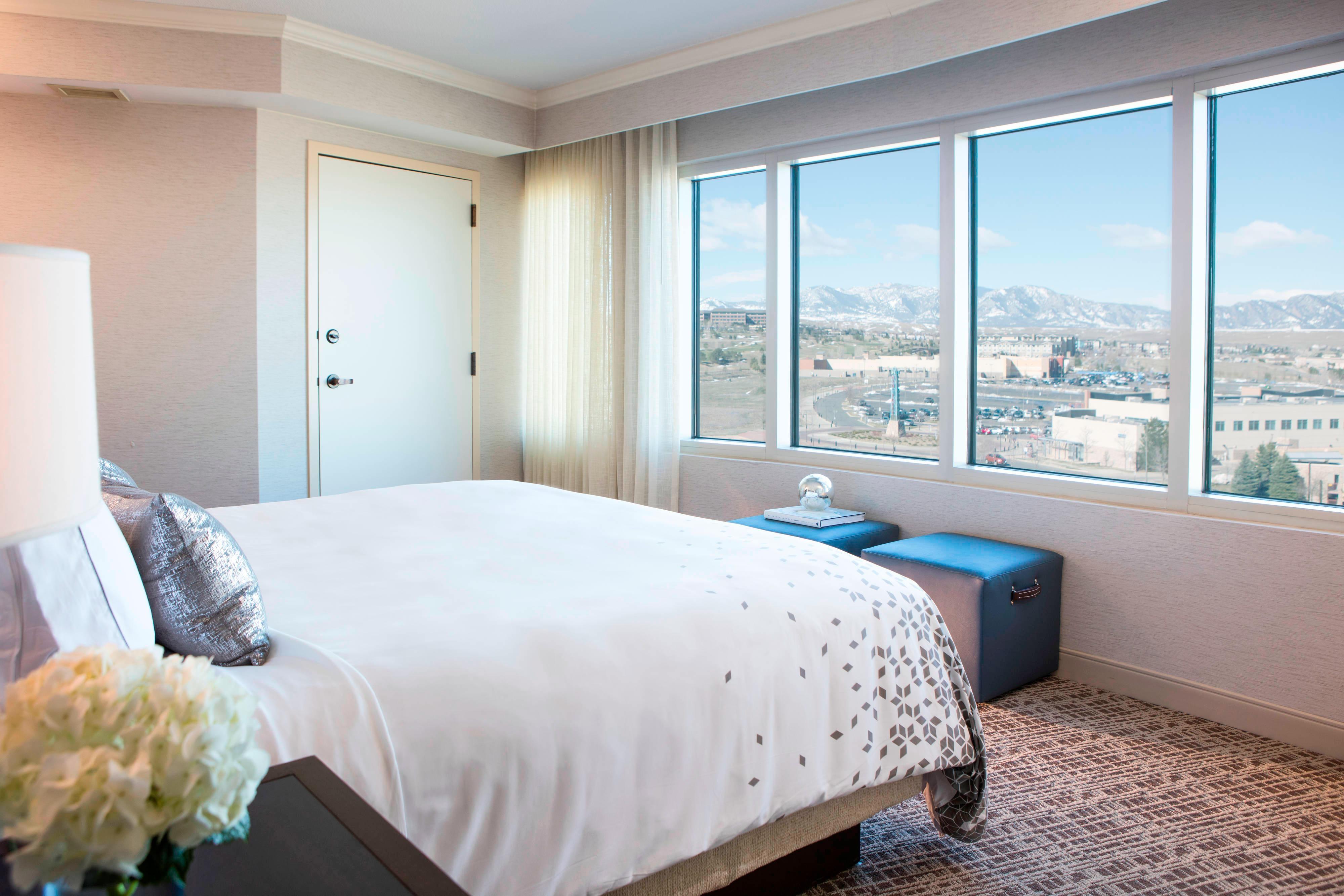 Schlafzimmer der Executive Suite