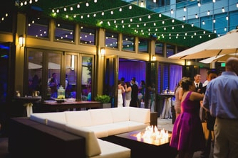 Outdoor Wedding Reception in Denver