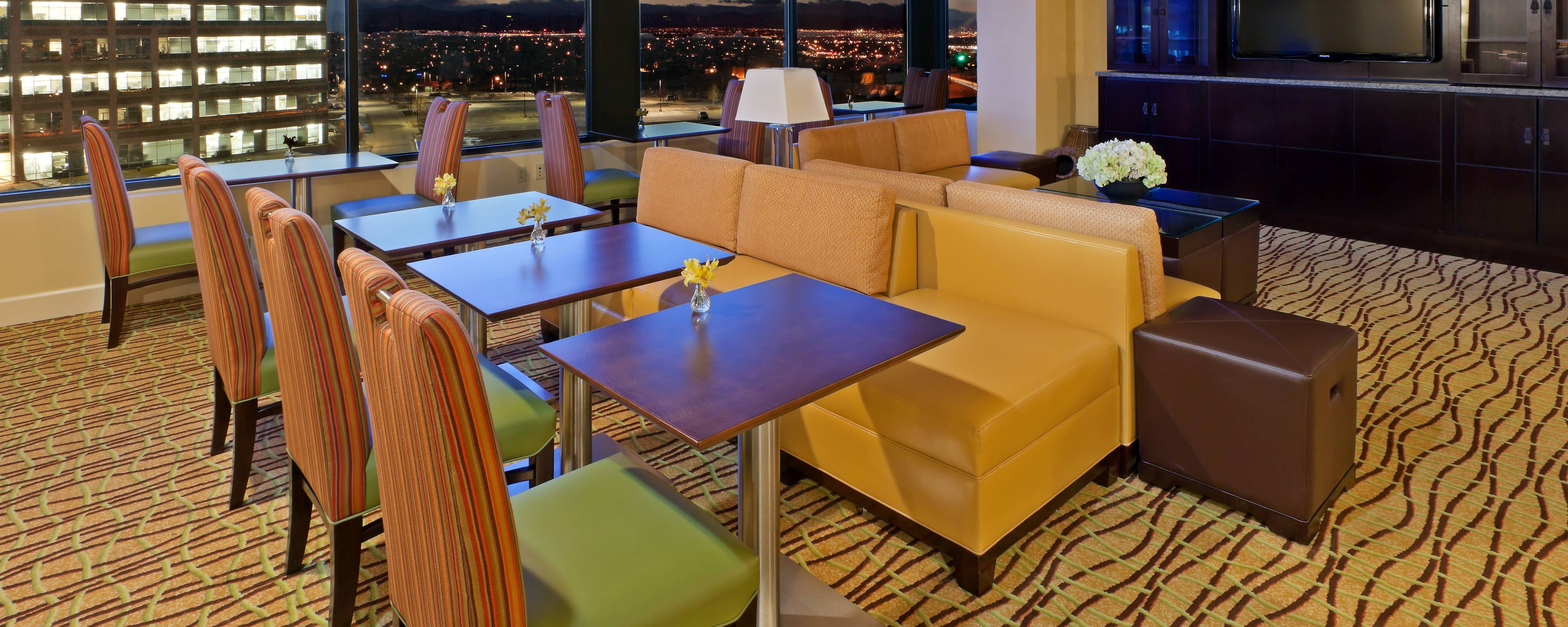Concierge-Lounge im Marriott Denver South