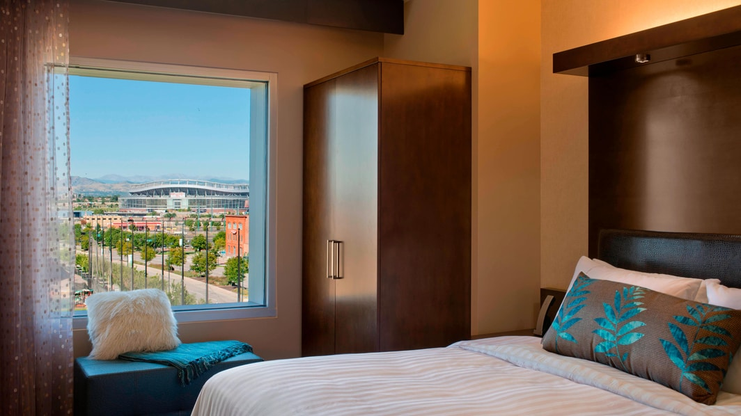 King Suite con vistas a Mile High