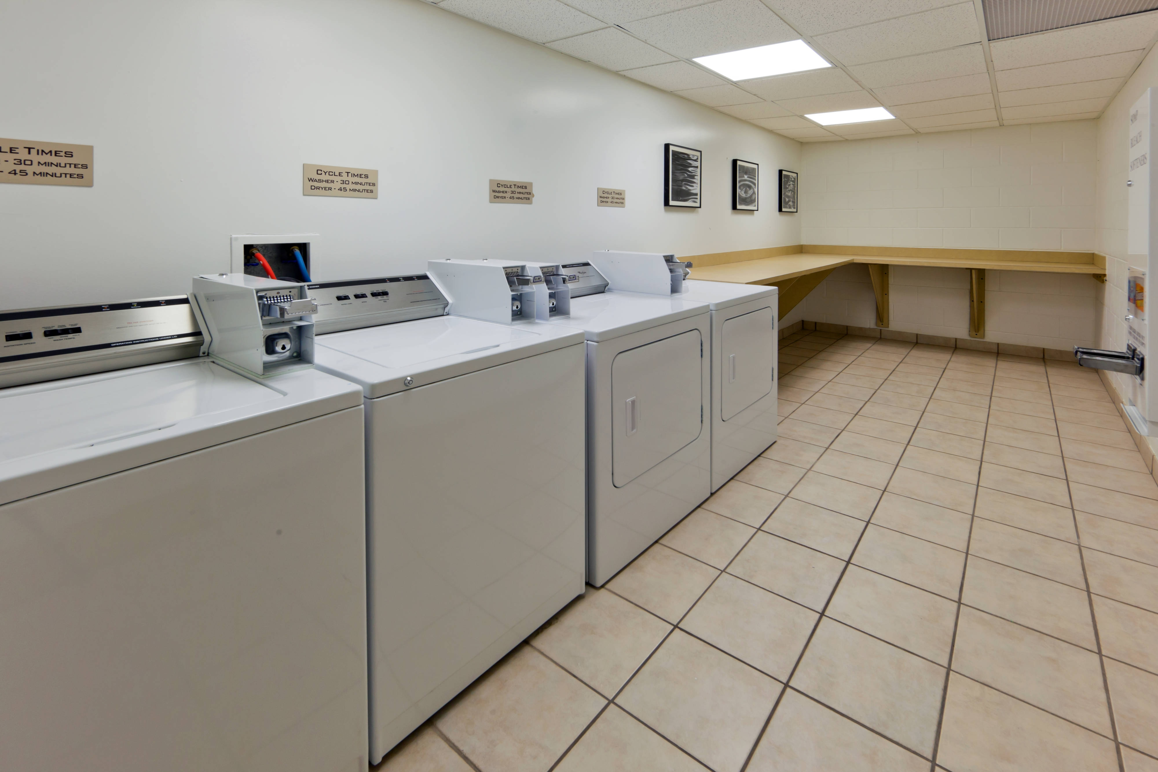 Springhill Suites Westminster Laundry Facility
