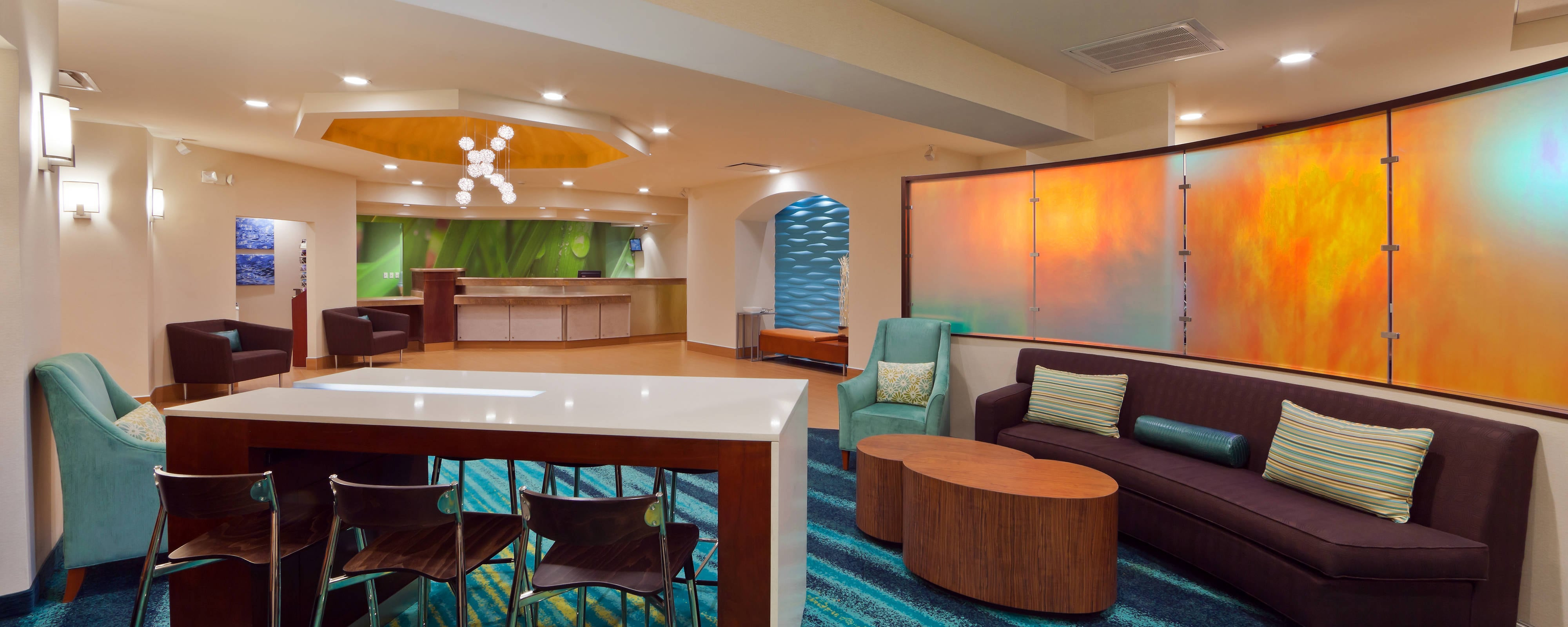 Springhill Suites Westminster Lobby