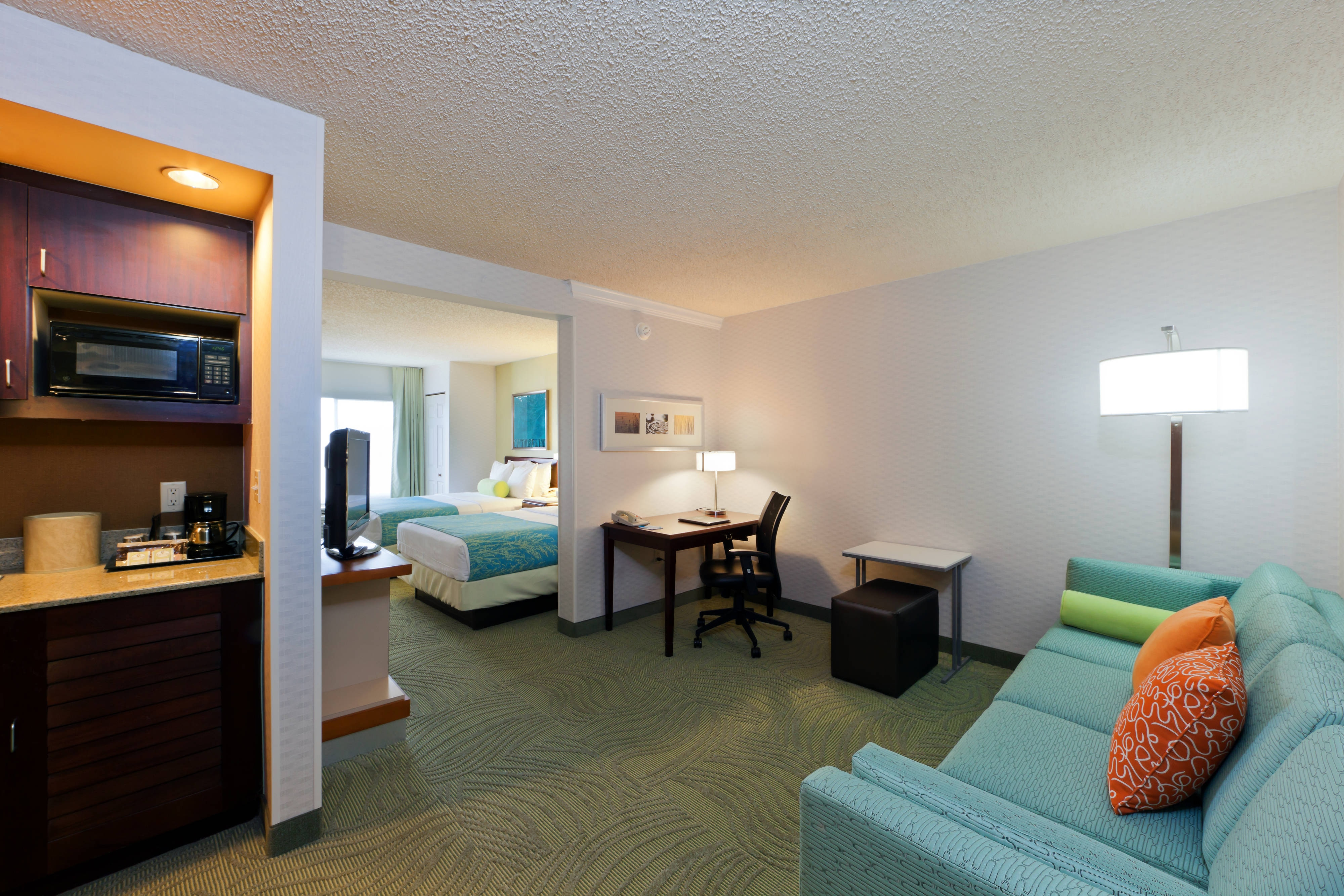 Springhill Suites Double Bedroom Suite