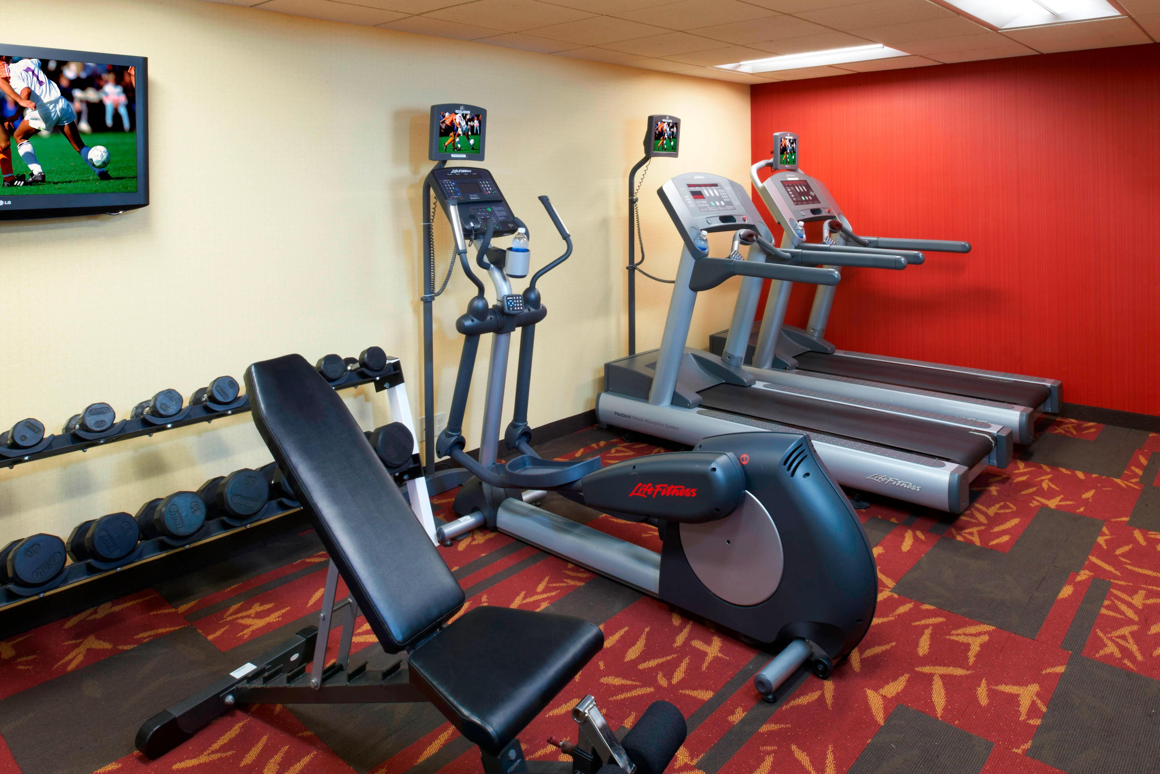 Courtyard Detroit Livonia Fitness Center