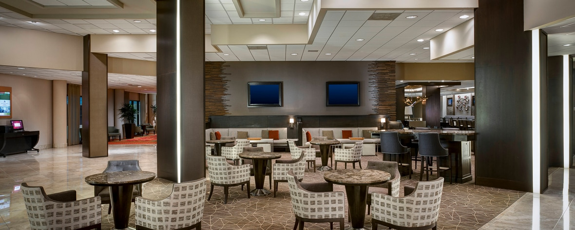 Lobby del DFW Airport Hotel